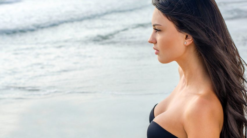 breast reduction and breast lift patient