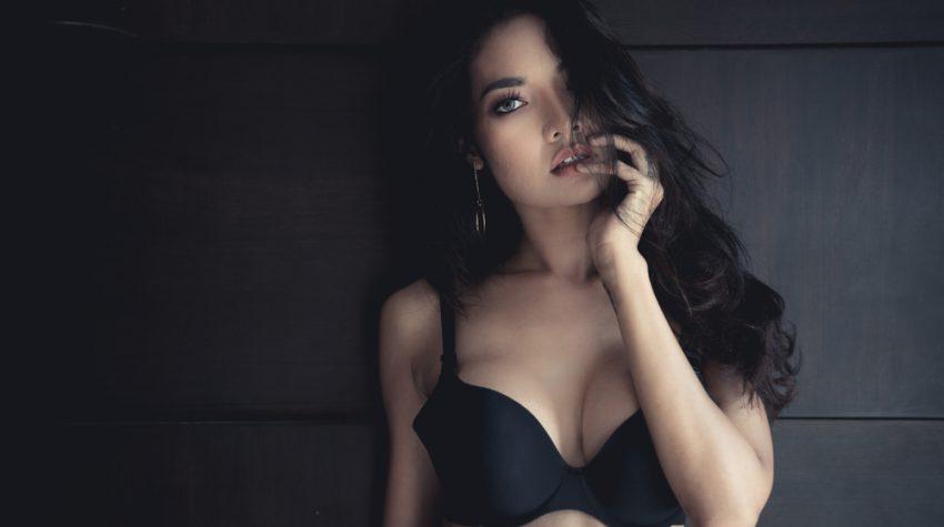 asian breast implants patient